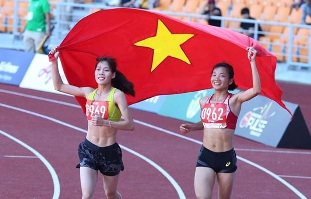 Obtiene Vietnam primer oro en decima jornada de los Juegos del Sudeste Asiatico hinh anh 1