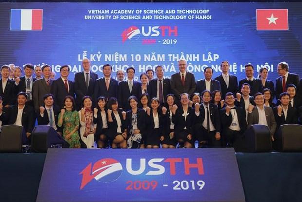 Resaltan aportes de Universidad de Ciencia y Tecnologia de Hanoi a renovacion de educacion nacional hinh anh 1