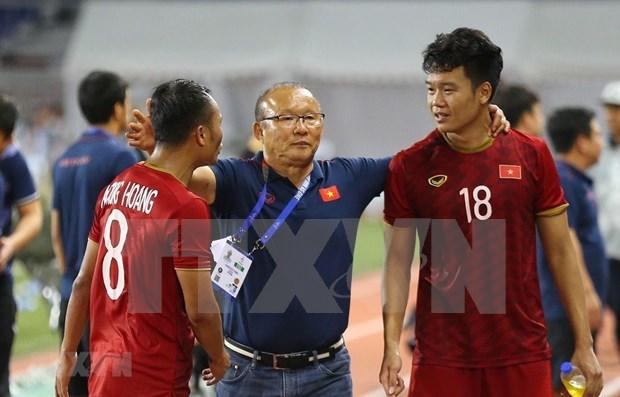 Afirma entrenador que la seleccion vietnamita de futbol hara el maximo esfuerzo por ganar el oro en los SEA Games hinh anh 1