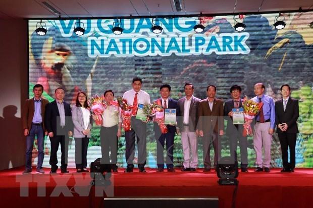 Reconocen a parques naturales de Vietnam como sitios patrimoniales de la ASEAN hinh anh 1