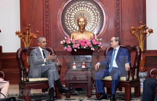 Apoya Barack Obama fortalecimiento de las relaciones entre EE.UU. y Vietnam hinh anh 1