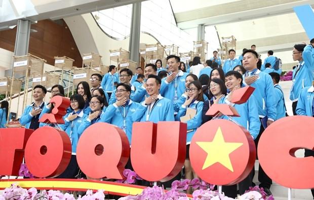 Inauguran magna cita de jovenes vietnamitas hinh anh 1