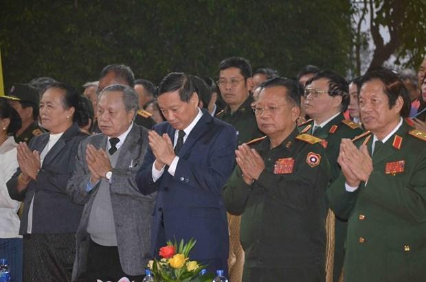 Efectuan en Vientiane requiem por martires de Vietnam y Laos hinh anh 1
