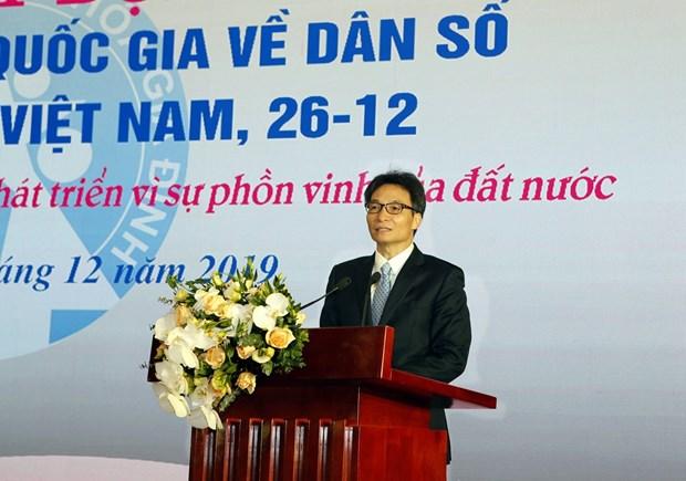 Lanzan en Vietnam Mes de Accion Nacional sobre la Poblacion hinh anh 1