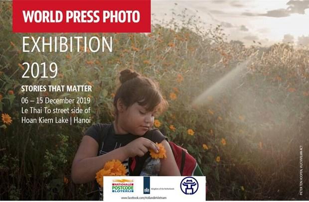 Inauguran en Vietnam exposicion de fotoperiodismo mundial hinh anh 1