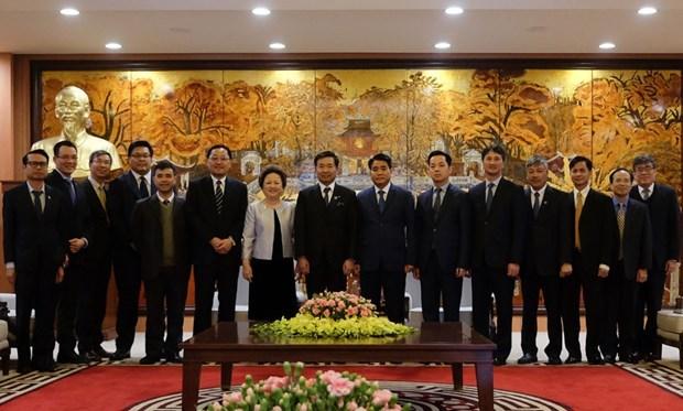 Respaldan autoridades de Hanoi las inversiones japonesas hinh anh 1