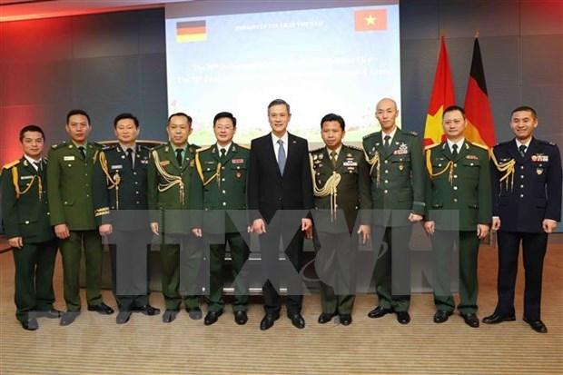 Conmemoran en Alemania y Malasia aniversario de fundacion del Ejercito Popular de Vietnam hinh anh 1