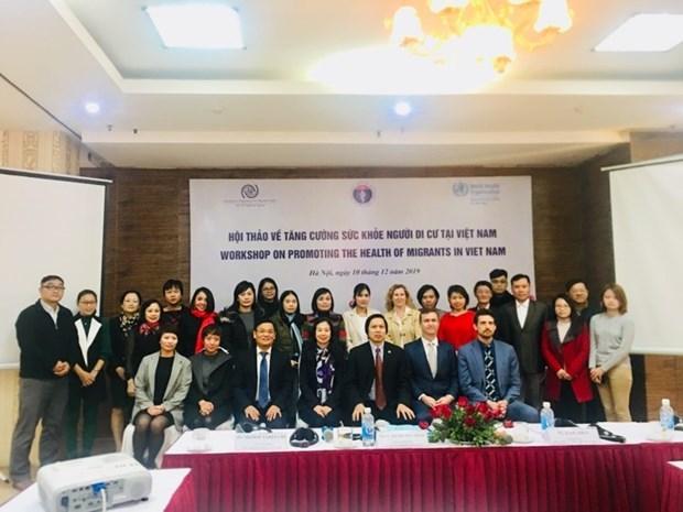 Sesiona seminario sobre la salud de migrantes en Vietnam hinh anh 1