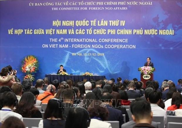 Inauguran la IV Conferencia Internacional sobre Cooperacion entre Vietnam y ONGs hinh anh 1