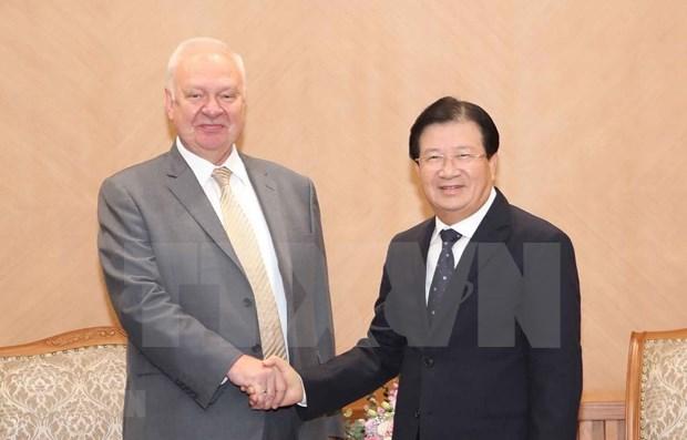 Reiteran apoyo a enlaces entre comunidades empresariales de Vietnam y Rusia hinh anh 1