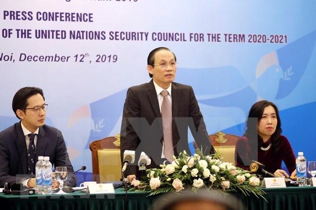 Incorporacion a Consejo de Seguridad evidencia la politica exterior de paz de Vietnam hinh anh 1