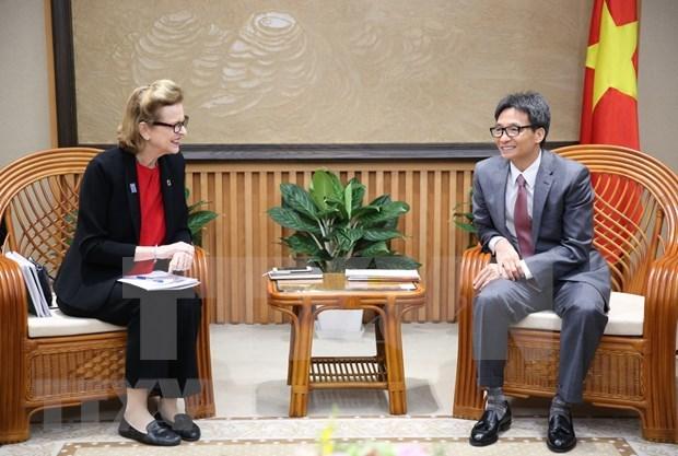 Reafirman esfuerzos de Vietnam por cumplir Objetivos del Milenio hinh anh 1