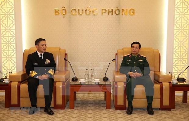 Abogan por intensificar lazos entre las Armadas de Vietnam y Japon hinh anh 1