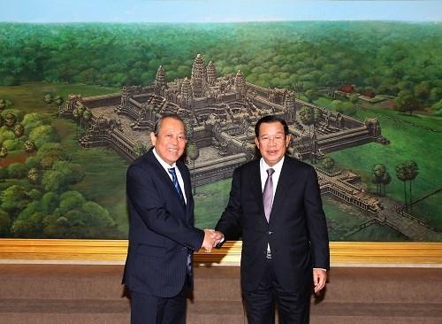 Fortalecen relaciones entre Vietnam y Camboya hinh anh 1