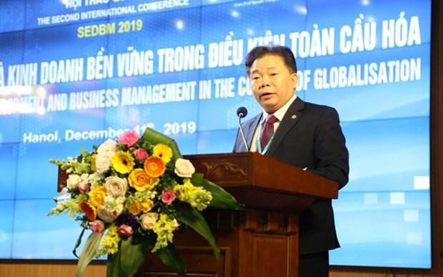 Debaten en Vietnam sobre desarrollo economico y negocios sostenibles hinh anh 1