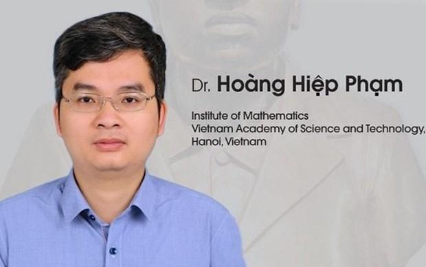 Honran a matematico vietnamita con el premio internacional Ramanujan 2019 hinh anh 1