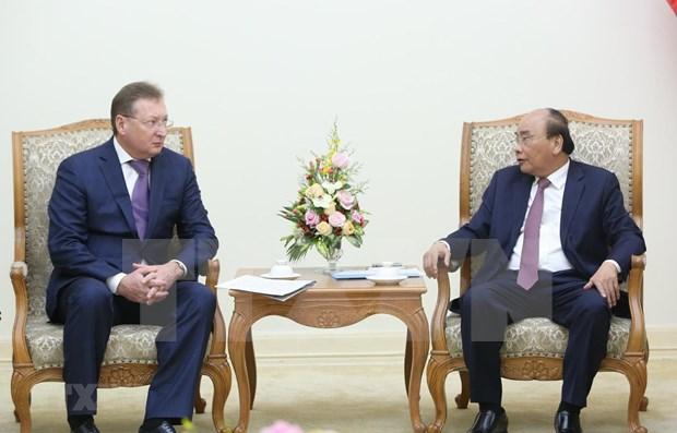 Respalda primer ministro de Vietnam cooperacion gasifera con Rusia hinh anh 1