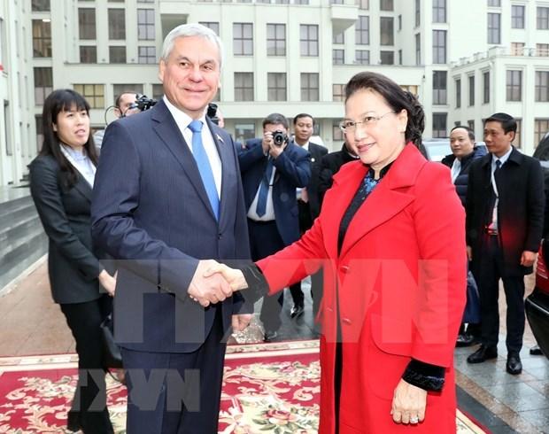 Robustecen nexos parlamentarios entre Vietnam y Belarus hinh anh 1