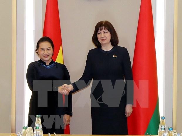 Acuerdan Vietnam y Belarus profundizar lazos bilaterales hinh anh 1