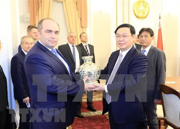 Identifican Vietnam y Belarus medidas para impulsar cooperacion economica hinh anh 1