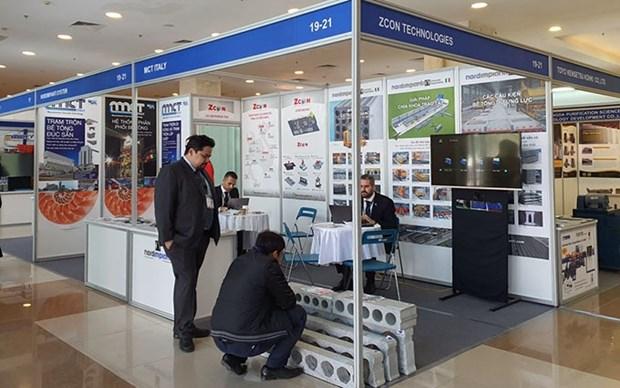 Presentan en Hanoi tecnologias modernas del sector de construccion hinh anh 1