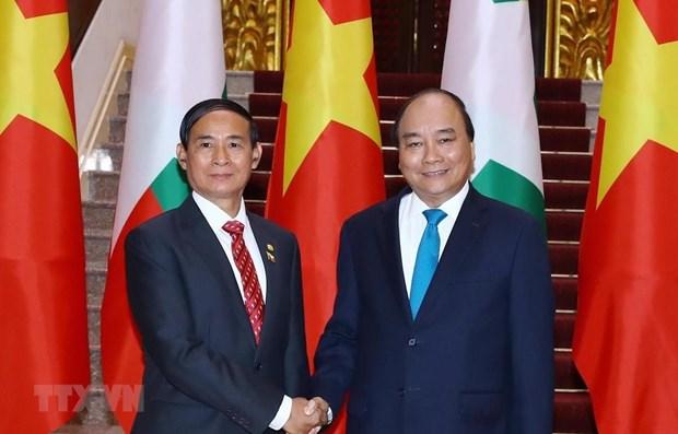 Destacan cooperacion integral y duradera entre Vietnam y Myanmar hinh anh 1