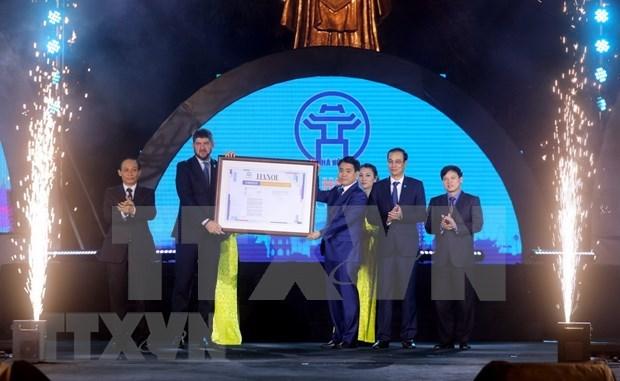 Hanoi, miembro de Red de Ciudades Creativas de UNESCO hinh anh 1
