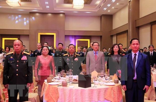 Rememoran en Laos y Australia fundacion de Ejercito Popular de Vietnam hinh anh 1