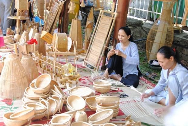 Reportan nutrida participacion en Festival de Productos Agricolas y Aldeas de oficios de Hanoi hinh anh 1