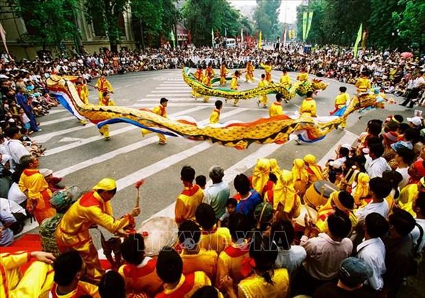 Preserva Hanoi cultura tradicional en vida contemporanea hinh anh 1