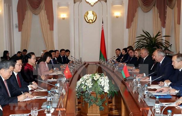 Concluye presidenta del Parlamento de Vietnam visitas oficiales a Rusia y Belarus hinh anh 1