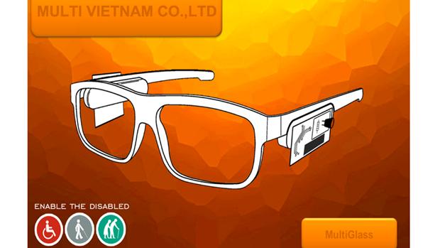 Espejuelo inteligente MultiGlass representara a Vietnam en Copa Mundial del Emprendimiento hinh anh 1