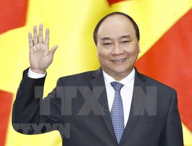 Parte primer ministro de Vietnam a Myanmar para visita oficial hinh anh 1