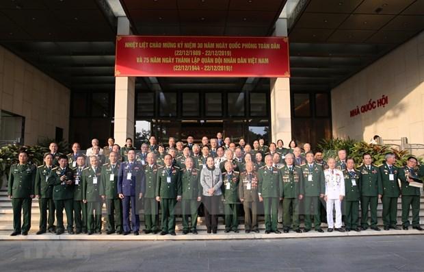 Destaca presidenta del Parlamento de Vietnam contribucion de fuerzas de operaciones especiales hinh anh 1