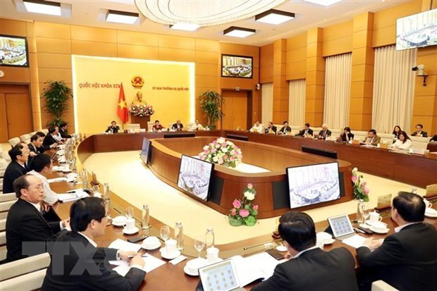 Comite Permanente del Parlamento de Vietnam iniciara manana su 40 reunion hinh anh 1