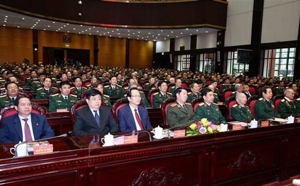 Honran al Departamento General de Politica con Orden de Salvaguardia de Patria hinh anh 1