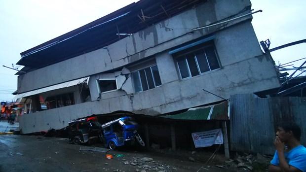 Al menos cuatro muertos por terremoto en el sur de Filipinas hinh anh 1