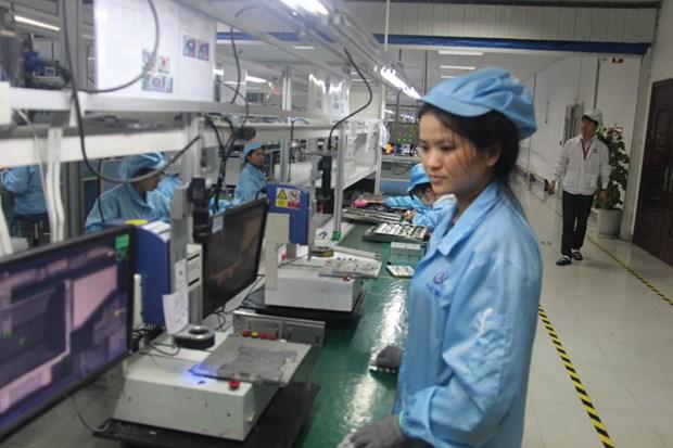 Ponen en marcha mas proyectos en zonas industriales en Bac Ninh hinh anh 1