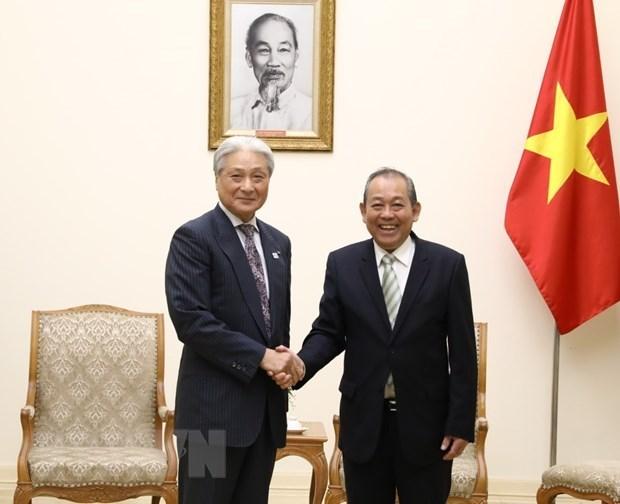 Viceprimer vietnamita exhorta a inversion de la prefectura japonesa de Tochigi hinh anh 1