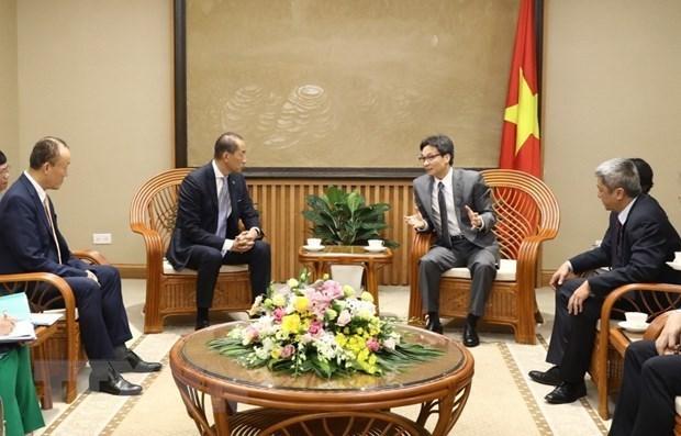 Vietnam aspira a un mayor respaldo de la OMS para mejorar su sistema de salud hinh anh 1