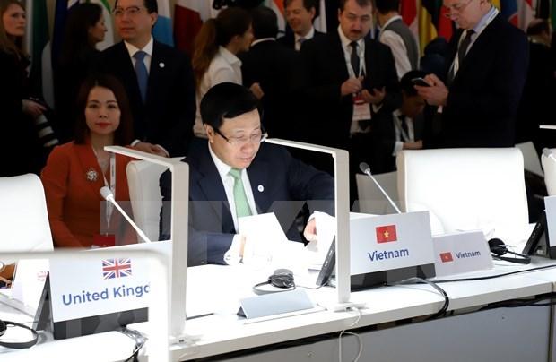 Apoya Vietnam a soluciones pacificas y sostenibles a conflictos mundiales hinh anh 1