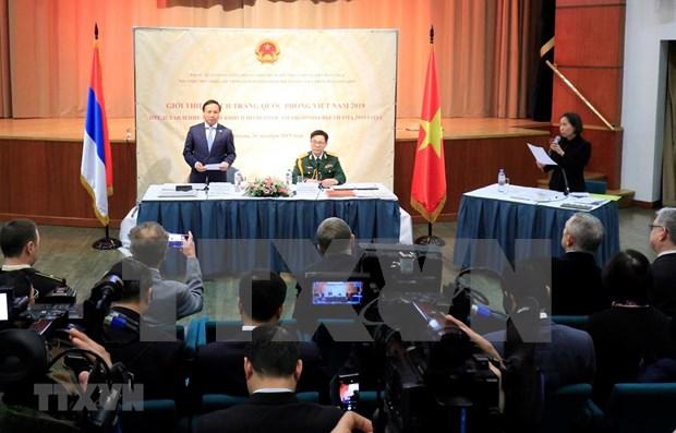 Conmemoran en Rusia 75 aniversario de fundacion del Ejercito Popular de Vietnam hinh anh 1