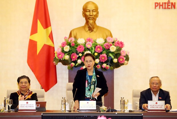 Inicia Comite Permanente del Parlamento de Vietnam su reunion 40 hinh anh 1