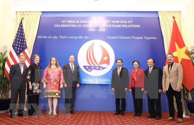 Estado Unidos reafirma disposicion de intensificar asociacion integral con Vietnam hinh anh 1