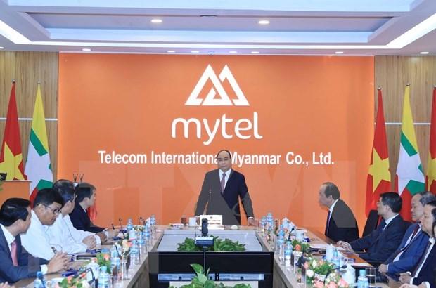Resaltan aportes de empresas vietnamitas a progreso de Myanmar hinh anh 1