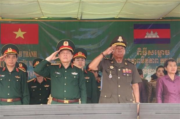 Efectuan Vietnam y Camboya simulacro de rescate ante desastres naturales hinh anh 1