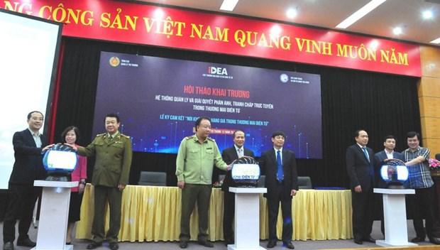 Lanzan en Vietnam sistema para solucion para quejas y disputas en comercio electronico hinh anh 1