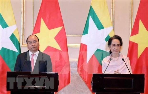 Visita del premier Xuan Phuc impulsa relacion Vietnam- Myanmar, afirma vicecanciller hinh anh 1