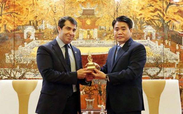 Dispuesta Hanoi a promover cooperacion con capital de Azerbaiyan hinh anh 1