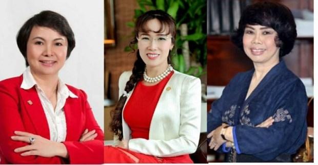 Publican informe sobre papel de empresas controladas por mujeres hinh anh 1